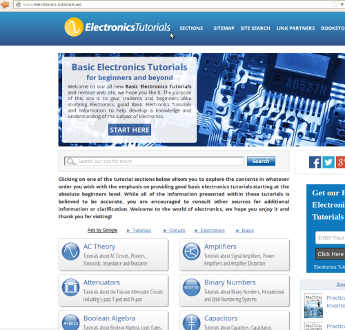 Basic Electronics Tutorials and Revision